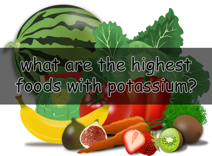 what foods with potassium