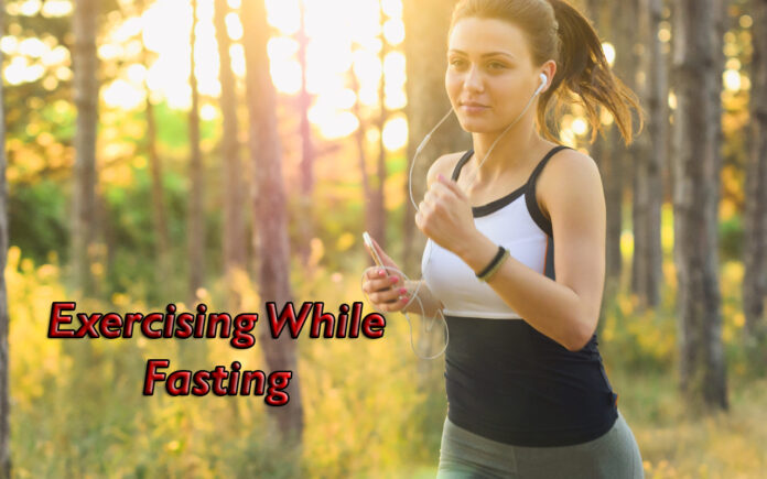 working out while fasting