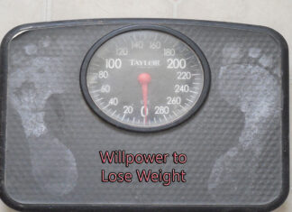 Willpower to Lose Weight